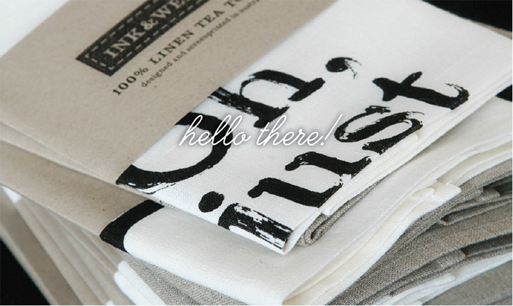 just dry up - designer tea towels