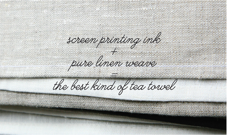 quality linen tea towels